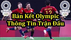 Lịch Bóng đá Nam Olympic – bán kết